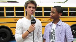 Billy Unger & Tyrel Jackson Williams on