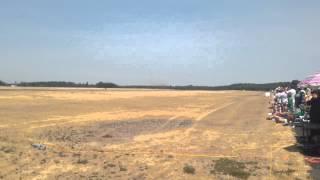 Smoke and Thunder Jet Car vs Stunt Plane