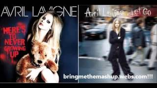 Download Avril Lavigne Mashup - Here's to Never Growing Up Complicated (Mashup) MP3 song and Music Video