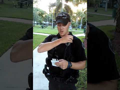 Harassed! By Boca raton police