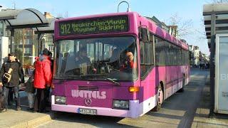 [Sound] Bus Mercedes O 405 N (WES-JA 84) der Fa Wettels Touristik GmbH, Rheinberg