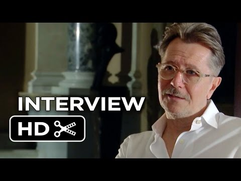Child 44 Interview - Gary Oldman (2015) - Tom Hardy, Noomi Rapace Movie HD