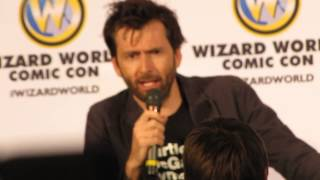 David Tennant is given an unusual gift