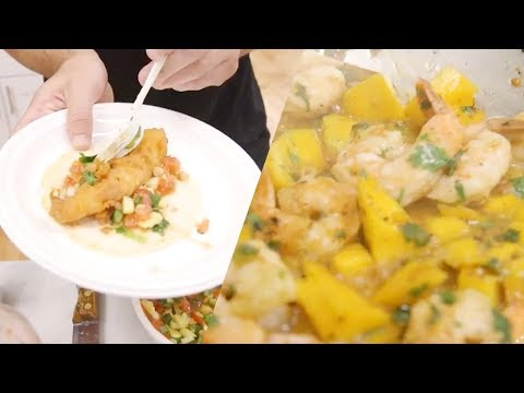 Mango Shrimp Tacos Vs 3 Beer and a Fanta Battered Cod Tacos — Top Don Round 2
