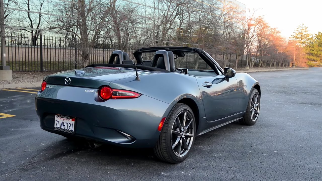 Popular 2016 Mazda MX5 Miata Grand Touring  WR TV Walkaround