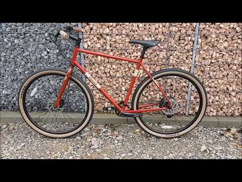 Breezer Radar Cafe Cyclocross Bike 2018  Gravel Maroon w sandstone