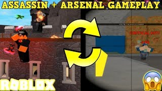 CHAMPION AXE W/ DUAL WIELD GAMEPLAY + GETTING AN ARSENAL DUB (ROBLOX ASSASSIN & ARSENAL)
