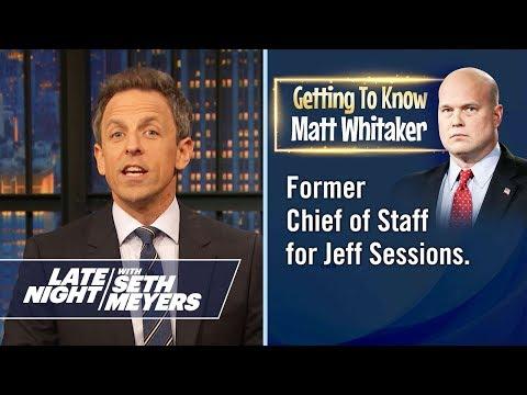 Getting to Know: Matt Whitaker