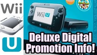 Nintendo Deluxe Digital Promotion Info - 10% back on every Black Wii U Eshop Purchase