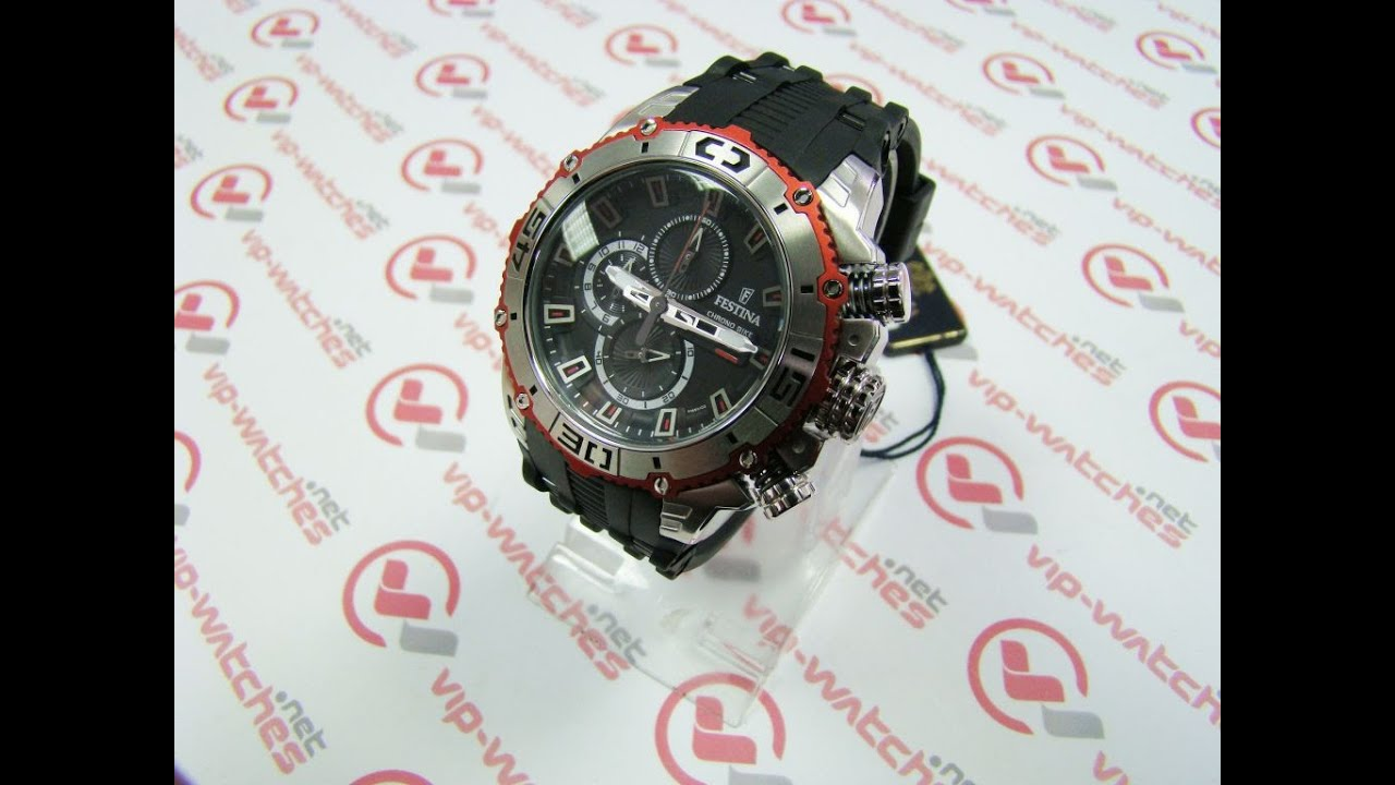ae5d1fbe6e1 Festina - Chrono Bike F16601 3 - YouTube