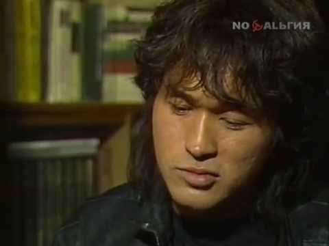 Виктор Цой в передаче До 16 и старше 1988