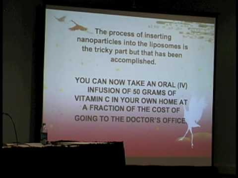 Dr. Donsbach Pt7 Liposomal Anti-Cancer Formula - Health Freedom Expo 2009