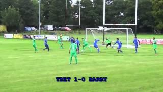 Trethomas Bluebirds v Barry Town United Pre season friendy at Bedwas RFC 21st July 2015