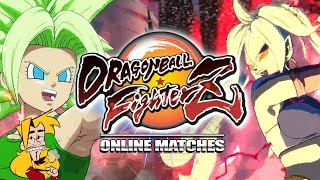 These Girls Are WHOOPING MY @$$! : Dragonball FighterZ - Online Matches