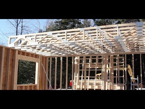 Wood Floor Trusses Great Advantages