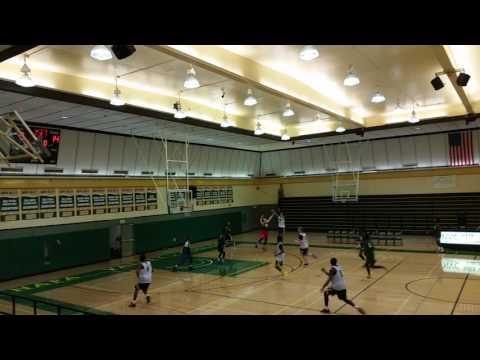 Napa Valley College Men's basketball team practice = team on floor communication!