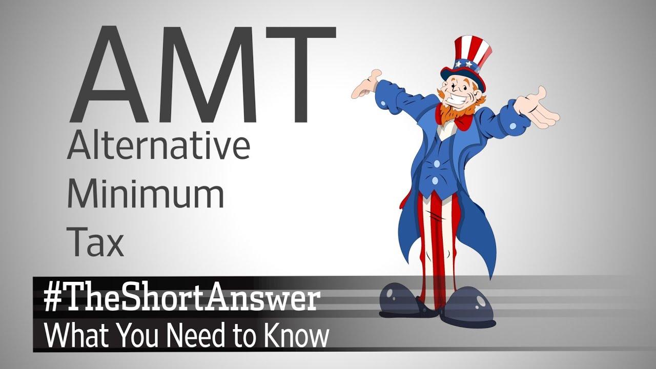 Taxes How Does the Alternative Minimum Tax Work – Alternative Minimum Tax Worksheet