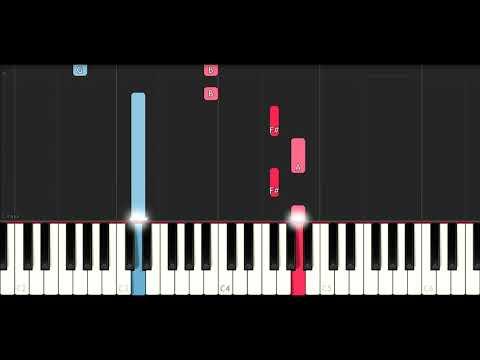 Selena Gomez, Marshmello - Wolves (SLOW EASY PIANO TUTORIAL)
