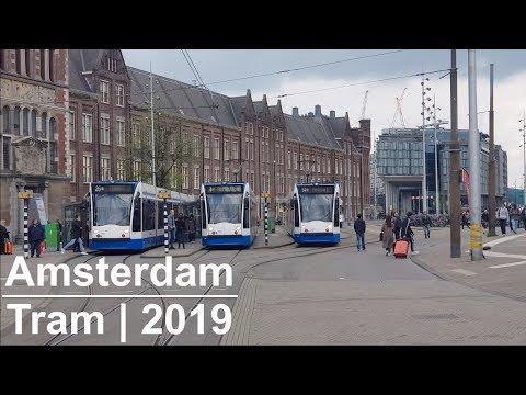 Amsterdam Tram | 2019 | GVB R-net | Light Rail | Netherlands