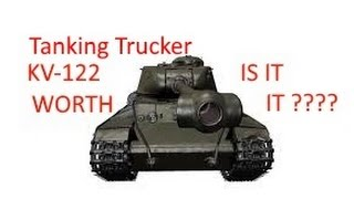 world of tanks kv 122 is it worth is review and gameplay