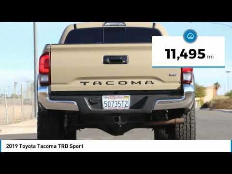 Toyota El Centro >> 2019 Toyota Tacoma Trd Sport For Sale In El Centro Ca 17198u