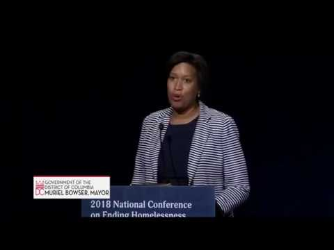 Mayor Bowser Addresses National Alliance on Ending Homelessness Conference, 7/24/18