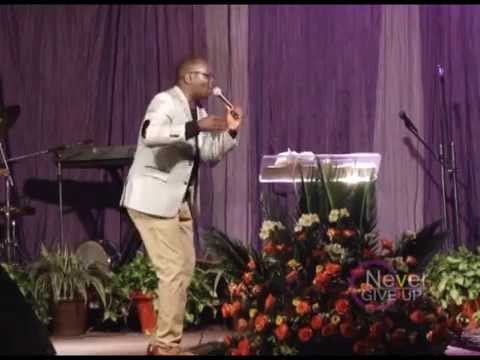 Pr. Isaac Kyobe Kiwewesi preaching at Kansanga Miracle Centre Part 2
