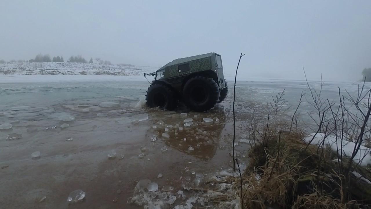 Sherp test-drive - прыжки в воду и не только))