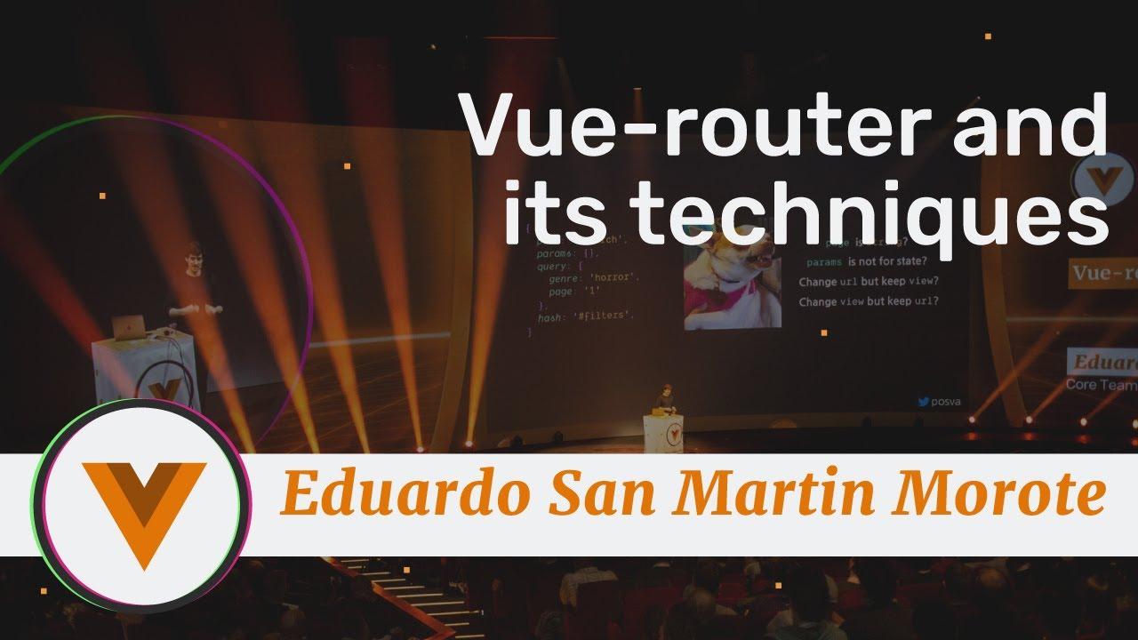 Vue-router and its techniques - Vue.js