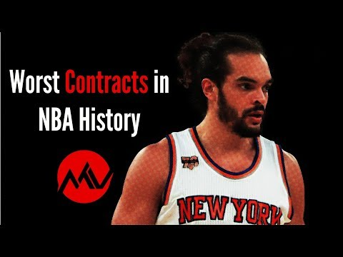 Worst Contracts In NBA History