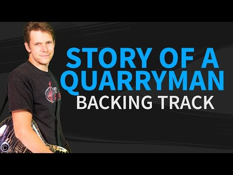 Story of a quarryman Backing Track by Joe Bonamassa - no vocal substitution