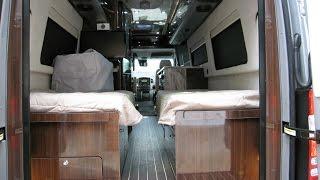 2016 Airstream Interstate Grand Tour Twin Bed Mercedes Benz Sprinter Camper RV
