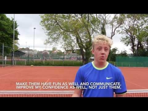 Deaf Tennis: Meet 16 year old, Jonathan Jayne