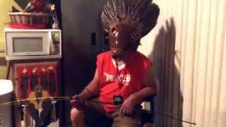 Cherokee Art Market Saga. Episode 6: Booger Cain channels his Uktena Warrior Spirit