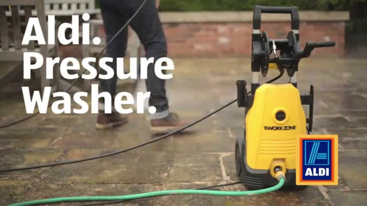 aldi pressure washer youtube. Black Bedroom Furniture Sets. Home Design Ideas