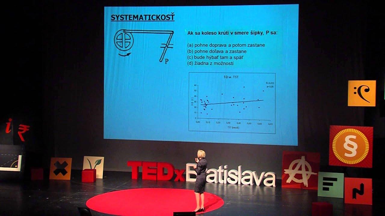 Testosterón posol mužnosti | Daniela Ostatnikova | TEDxBratislava