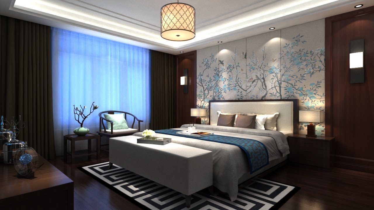 Interior Bedroom Vray