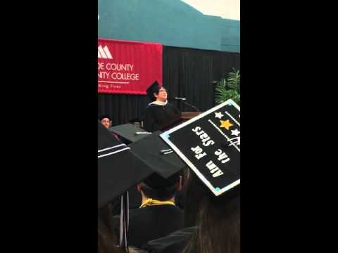 2016 Monroe County Community College Alumnus of the year award speech