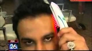 HairMax LaserComb on FOX News  with hair restoration surgeon Dr. Carlos Puig