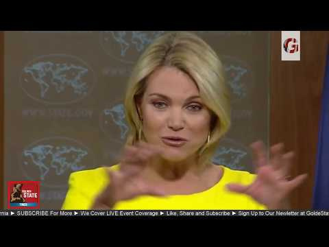 LIVE: US State Department Press Briefing Regarding North Korea threat Kim Jong Un & GUAM