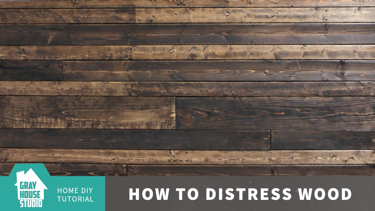 How to distress a