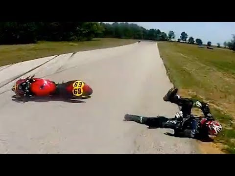 Hectic Road Bike Crashes & Motorcycle Mishaps 2017 [Ep.#29]