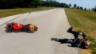 Hectic Road Bike Crashes & Motorcycle Mishaps 2017 [Ep.#29]