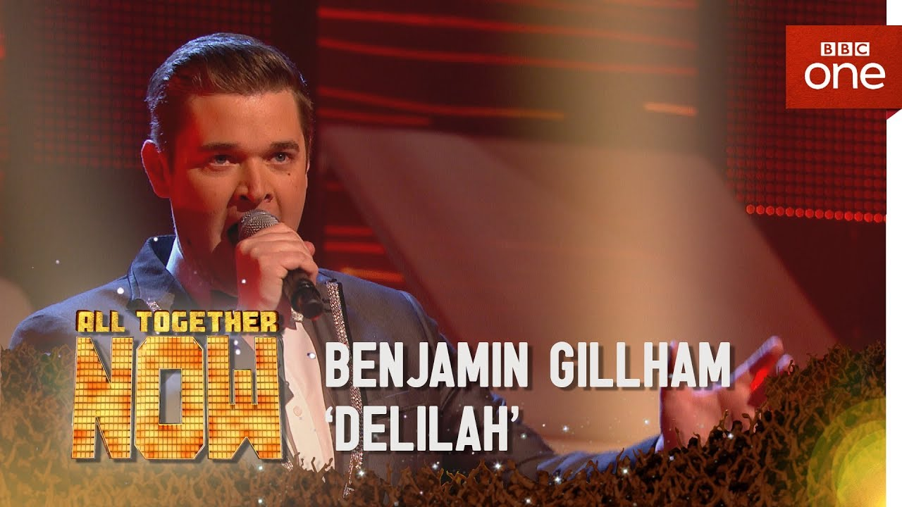 Benjamin Gillham performs 'Delilah' by Tom Jones - All Together Now: Episode 1  - BBC One