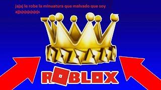 roblox ayudando a la gente a la corona dorada