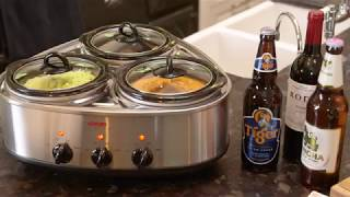 Cooks Professional Triple Pot Slow Cooker From Clifford James