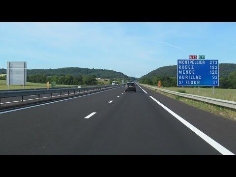 France: A75 Clermont-Ferrand  -  Massiac