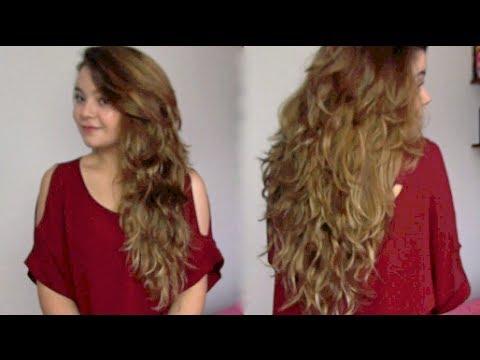 Como cortar el pelo en capas largas! - Maqui015