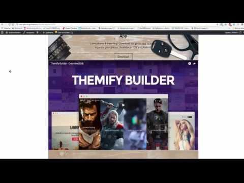 Themify - Builder + Расширения - Drag & Drop Конструктор Страниц для WordPress