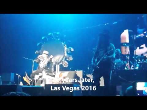 28 yr later, Axl presents Slash in Vegas as The Ritz 88
